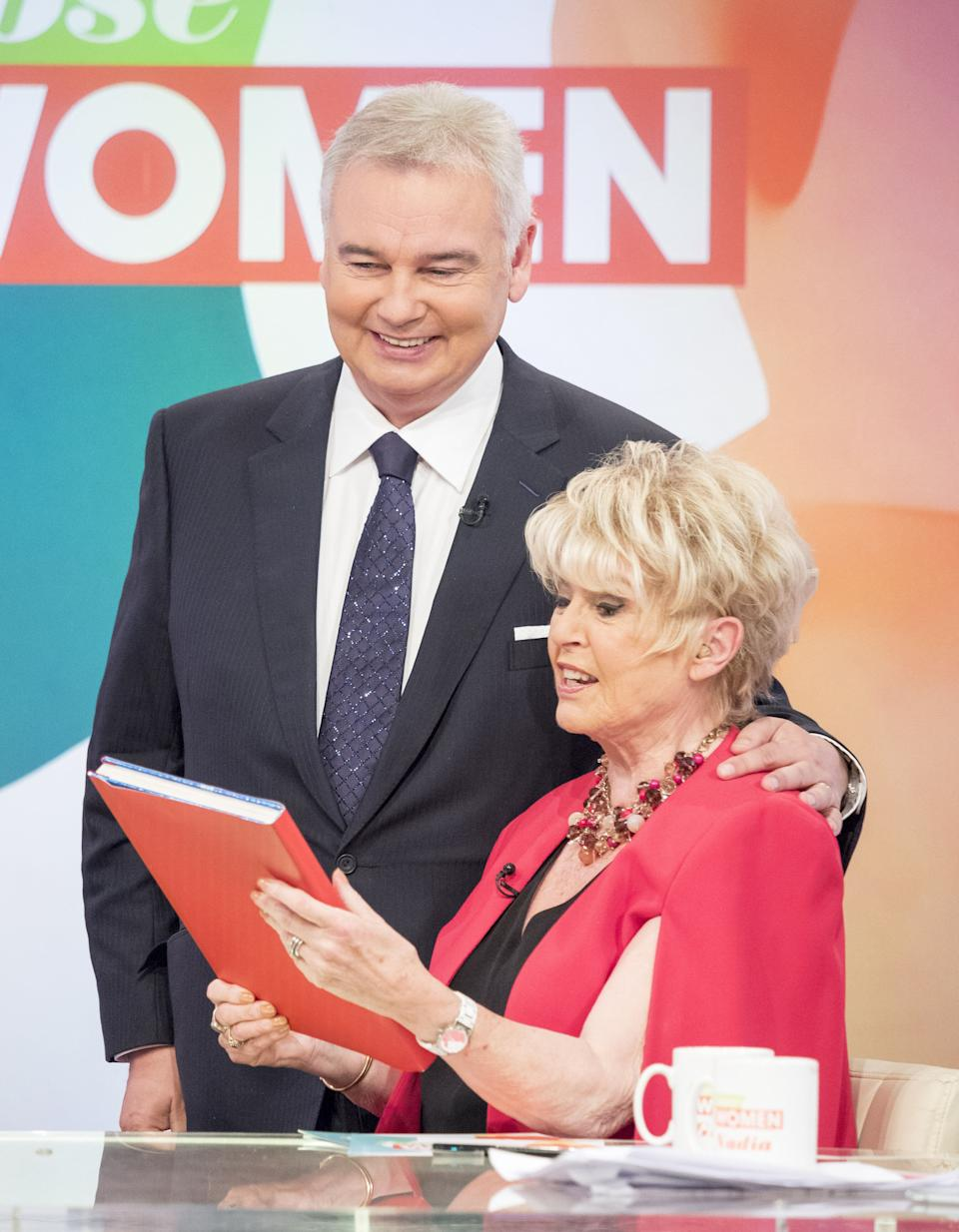 Gloria Hunniford is good friends with Eamonn and Ruth (Photo: Ken McKay/ITV/Shutterstock)