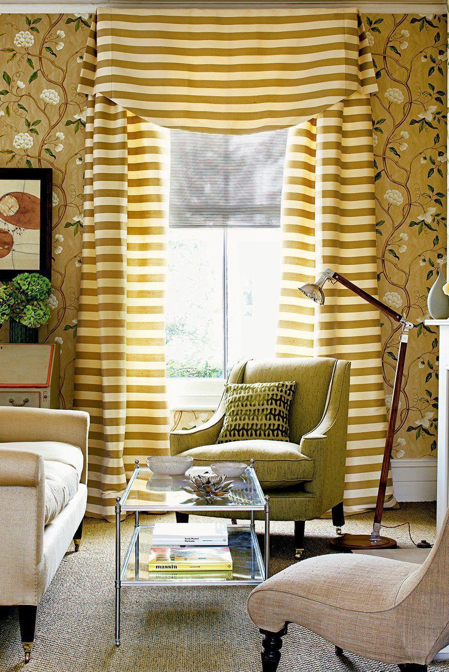 "<p>It's no surprise that natural light can do wonders for a room as well as your mood. Enjoy its benefits by positioning your living room seating near the window and <a href=""https://www.goodhousekeeping.com/home-products/g34524563/best-places-to-buy-curtains/"" rel=""nofollow noopener"" target=""_blank"" data-ylk=""slk:choosing window treatments"" class=""link rapid-noclick-resp"">choosing window treatments</a> that allow light to easily pour into your space. </p>"
