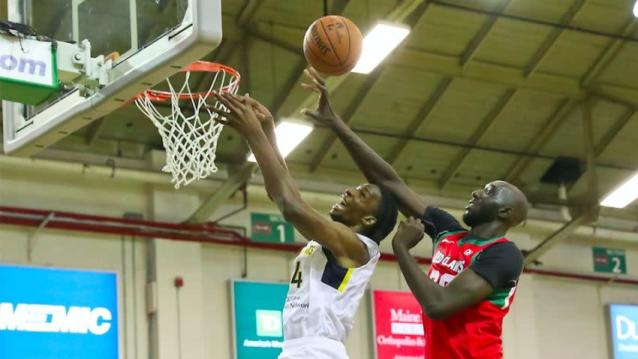 Tacko Fall once again steals the show, this time in Maine