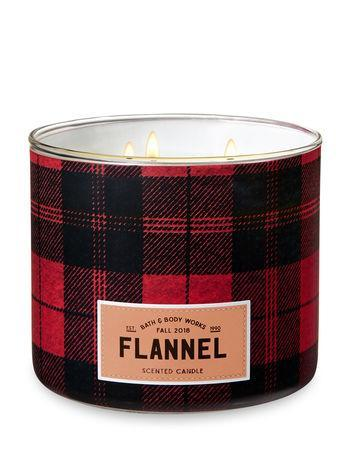 "<p><strong>Bath & Body Works</strong></p><p>bathandbodyworks.com</p><p><strong>Out of Stock</strong></p><p><a href=""http://www.bathandbodyworks.com/p/flannel-3-wick-candle-023901889.html"" rel=""nofollow noopener"" target=""_blank"" data-ylk=""slk:BUY NOW"" class=""link rapid-noclick-resp"">BUY NOW</a></p><p>You'll feel like you woke up on Christmas morning in your favorite pair of flannel PJ's every time you light up this candle.</p>"