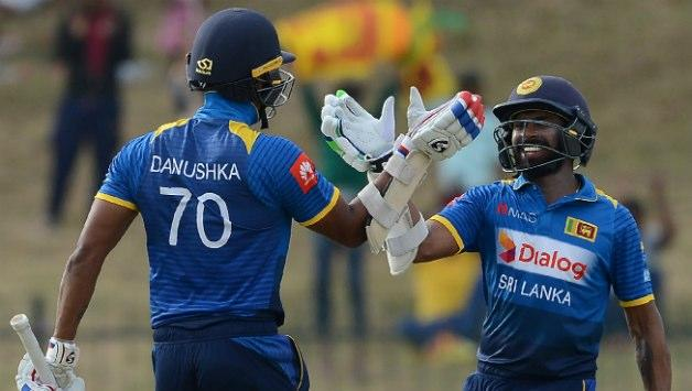 <p>August 20 (CRICKETNMORE) - Sri Lanka were 55/0 in first 10 overs against India in the first of five-match One-Day International (ODI) series. Danushka Gunathilaka was batting on 22 and Niroshan Dickwella on 29. </p>