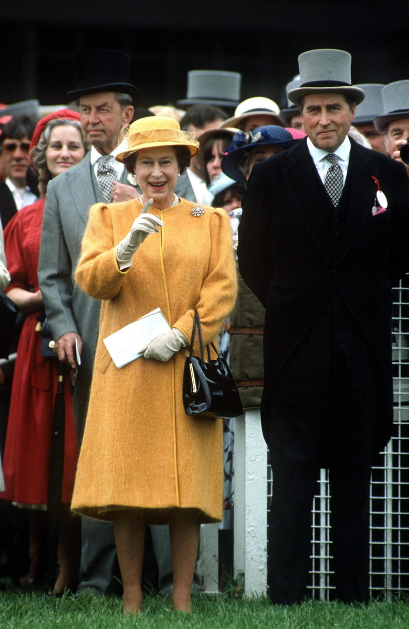 The monarch enjoyed a close friendship with Lord Porchester until his death in 2001 [Image: Getty]