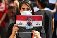 Many of the activists and parties behind the unprecedented street protests two years ago are boycotting the vote (AFP/AHMAD AL-RUBAYE)