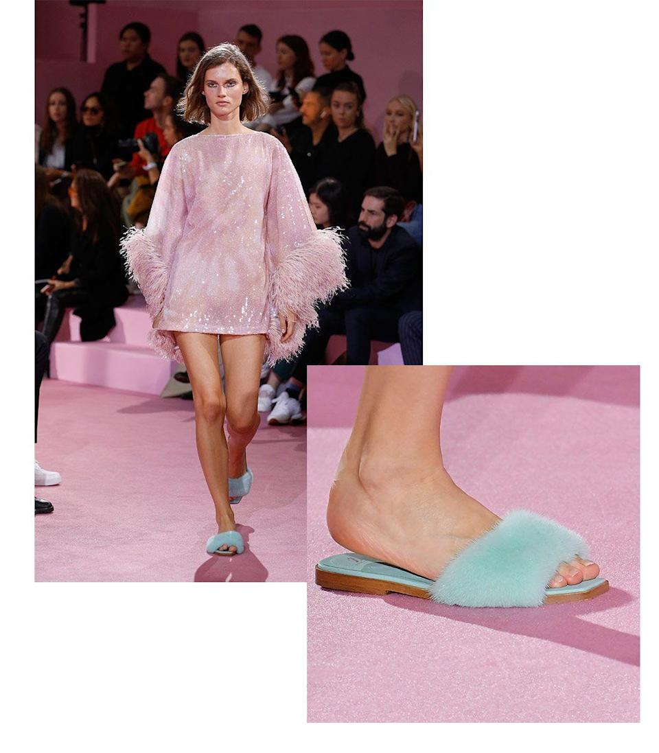 <p>Though we might be starting off the year sitting pretty at home, we believe our feet deserve to look just as good. Slippers are currently having their biggest moment to date. So much so that we'll be wearing our favorite pairs straight out of the house. </p><p><em>Inspiration from Ralph & Russo</em></p>