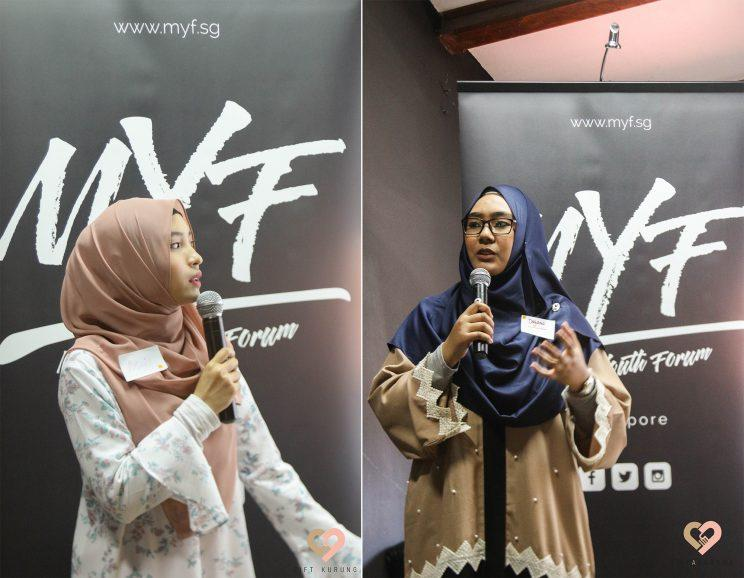 [L] Maisurah Mokhsin and [R] Dayana Mahiuddin founded
