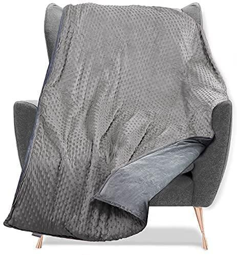 <p>The <span>Quility Weighted Blanket with Soft Cover</span> ($80) will keep you cozy and feeling secure. The weight is evenly distributed throughout the blanket. It comes in a variety of colors and weights as well. </p>
