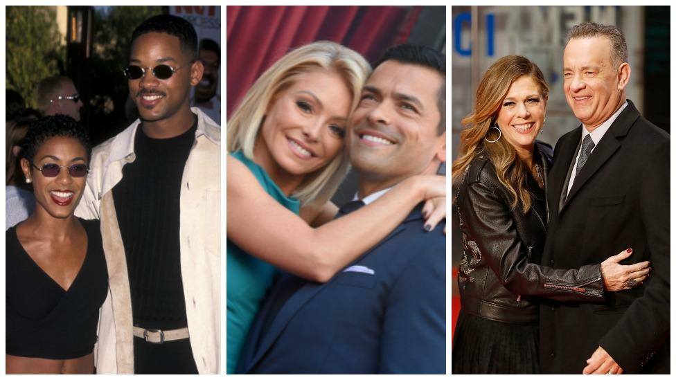 <p>See the Hollywood couples whose relationships have lasted more than 20 years and yet they still look stronger than ever! Source: Getty </p>