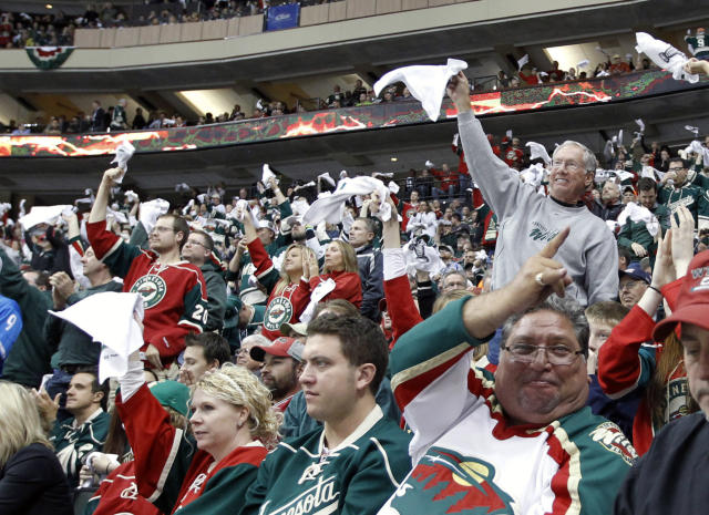 Minnesota Wild are ridiculously dominating foes on home ice