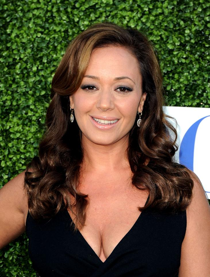 """The Talk's"" Leah Remini arrives at the TCA Summer 2010 CBS/The CW/Showtime ""Star Party in the Tent"" on July 28, 2010 in Beverly Hills, California."