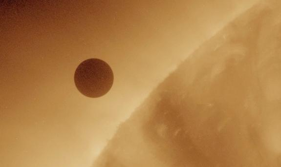 Venus Transit 2012 - First Up-Close Look