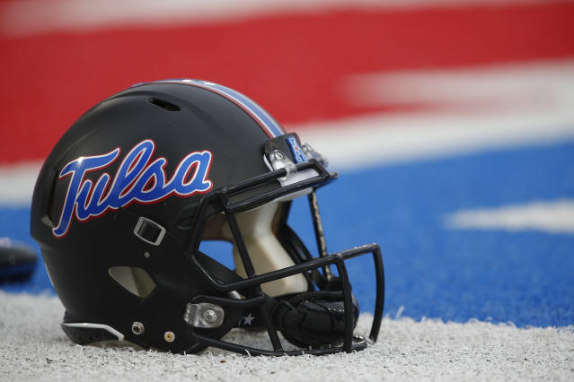 Two players from Tulsa are currently in quarantine. (AP Photo/Jim Cowsert)