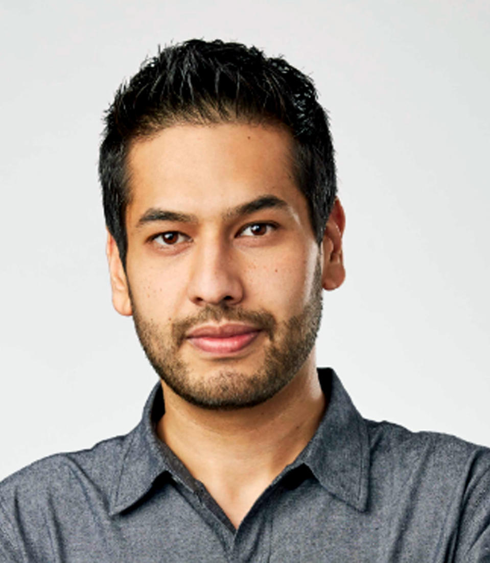 This undated image provided by The Honest Company shows The Honest Company Chief Financial Officer Muhammad Shahzad. Shahzad, a former investment banker who joined the company in 2014, shared his thoughts with The Associated Press about the company's instant success, learning lessons and his vision for growth. (The Honest Company via AP)