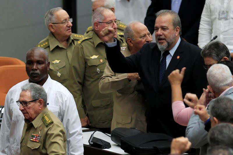 Cuba names prime minister in move to lighten presidential load