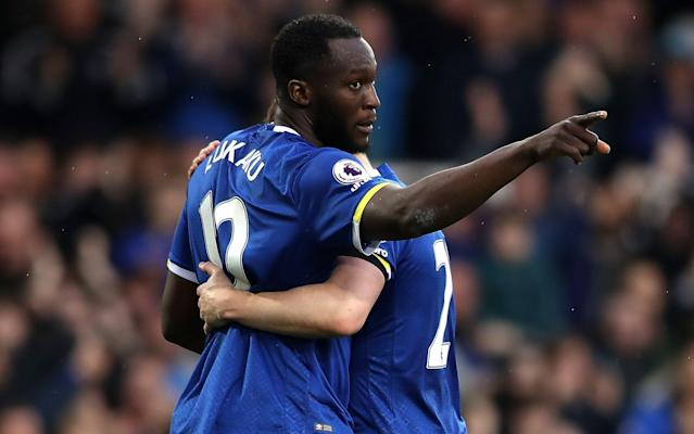 <span>Romelu Lukaku is keen to join Chelsea</span> <span>Credit: GETTY IMAGES </span>