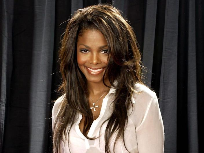 Presenter Janet Jackson during The 2nd Annual BET Awards  Getty Images