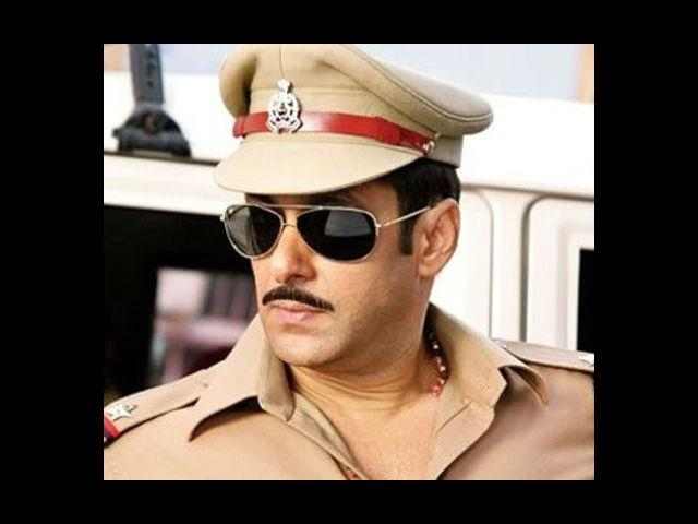<b>4. Salman in Dabangg 2</b><br> Salman Khan is recreating magic with his much-liked police character, Chulbul Pandey in 'Dabangg 2'. And his moustache surely adds to his hotness.