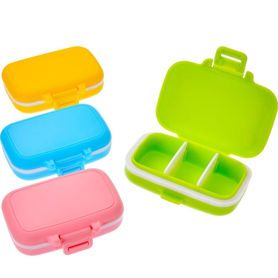 <p>These <span>Jovitec 4 Piece Pill Cases</span> ($8) are perfect for organizing different medicines.</p>