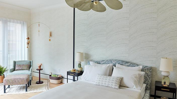 The Master Suite inside the 2020 Real Simple home is certainly