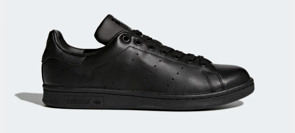 Adidas Unisex Stan Smith Shoes in Core Black