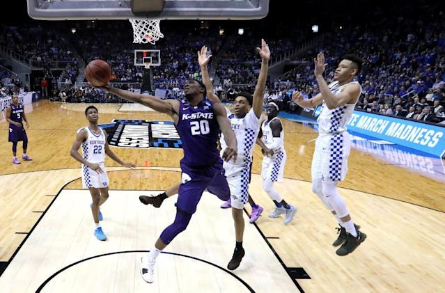 Kentucky had every possible advantage and couldn't hold down Kansas State. (Getty)