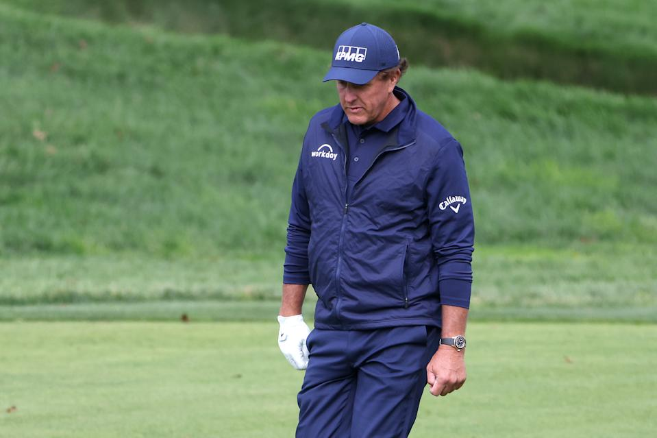 Phil Mickelson at the 2020 U.S. Open