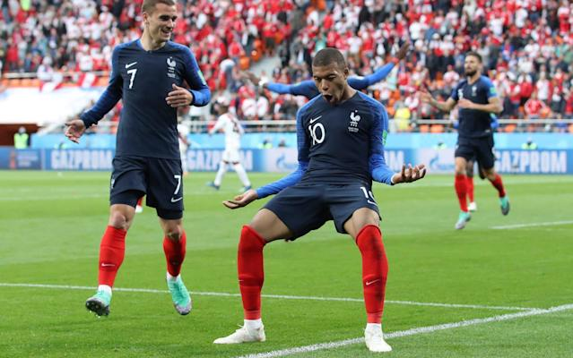 "How Giroud brought much-needed focus to France's attack ​ Australia keep hopes alive with draw against Denmark Argentina vs Croatia: live (7pm kick-off) How Guerrero's desperation led to Peru's downfall You are the VAR: See how you fare in our new game Kylian Mbappe scored the only goal of the game as France stuttered their way back to the top of the Group C table, sealing their spot in the knockout stages and sending winless Peru out. It was another unconvincing display from the French, whose manager, Dider Deschamps has come under pressure this week to get his talented squad playing at something closer to their vast potential. Peru had enough chances to get something from the game but France held out for a narrow win. Both goalkeepers were called into action in a tight opening half-hour that saw promising chances for either side go begging. Peru had made the faster start, creating the game's best early chances, and Hugo Lloris - on his 100th appearance for France - was almost embarrassed when Yoshimar Yotun's attempted lob from the half-way line floated just over his crossbar. Antoine Griezmann and Paul Pogba had chances for France, before Paolo Guerrero had the best opportunity of the first half, taking a cross into his path and away from Samuel Umtiti, but he shot straight at Lloris, who saved with his legs. Mbappe taps in to score the only goal of the game Credit: Reuters Not long afterwards France were ahead. It was a simple enough task for 19-year-old Mbappe, who only had to tap into an empty net from a couple of yards after Olivier Giroud's blocked shot had looped over the goalkeeper and fallen into the Paris St-Germain player's path. Mbappe becomes France's youngest ever goal-scorer at a major international tournament. The goal prompted a period of French domination, although they were unable to add to their lead before half-time. Knowing they would have to score in order to save their World Cup campaign, Peru came out all guns blazing at the start of the second half. Substitute Jefferson Farfan was lively after being introduced at the break, and he was involved in the chance through which Peru nearly got back into the game. Paolo Guerrero had Peru's best chance but could not find an equalier Credit: getty images Farfan nutmegged Griezmann on the edge of the box, before laying off to Pedro Aquino, who flicked the outside of the post with a thunderous long-range shot that had Lloris rooted to the spot. Despite numerous attempts - Peru ultimately paid the price for failing to test the French goalkeeper enough. The defeat means Peru are out of the World Cup having failed to score in either of their defeats, while a draw in their final Group C match against Denmark will send France through as group winners. 6:43PM Peru's talisman could not find that all-important goal tonight Here's Frederick Clayton analysing the Peru forward's performance. 6:25PM Great idea Arrange Peru v Morocco for the rest day next Friday— Michael Cox (@Zonal_Marking) June 21, 2018 6:14PM On-the-whistle analysis Jeremy Wilson is in Yekaterinburg, and has looked at the impact a returning Olivier Giroud had on France's attack. Read his piece here. 6:09PM Peru had enough chances Peru could have got something from that, they certainly had enough chances, but too many of them came from distance. Lloris had a quiet day at the office. France vs Peru shots on goal 6:02PM Disappointment all round Okay, France won't be too down after winning for a second successive game, but the fans won't be all that happy either, given the manner of this performance. It was definitely better than the laboured display against Australia, but they also did little to convince the doubters that they are contenders to win the competition. Peru, meanwhile, with their attack-minded play and so many passionate supporters in Russia, crash out at the earliest possible stage. Most people would have wanted to see them get a result here - and they probably deserved something from the game - but it wasn't to be. Bye, bye, Peru. Andre Carrillo reacts after Peru were knocked out of the World Cup Credit: AFP 5:53PM Full time France hold on for a narrow win and they have qualified for the second round. Peru are out of the 2018 World Cup. 5:53PM 90 mins +4 - France 1 Peru 0 Final minute, and France have the ball up the wrong end of the pitch. Dembele should keep it but he crosses and Gallese claims. He launches it up the field but Guerrero is tackled by the irrepressible Kante. France come again and Giroud wins a corner. That should be that. 5:51PM 90 mins +3 - France 1 Peru 0 A free-kick for Peru out on the right near halfway. A chance to lump the ball into the box. Avincula does just that, but Guerrero flicks on... and out of play. They'll be lucky to get another chance. 5:50PM 90 mins +2 - France 1 Peru 0 France wind down the clock with the ball in the corner. They eventually cross, and Matuidi fires a volley at goal from the edge of the box, but it goes well wide. 5:49PM 90 mins - France 1 Peru 0 Four minutes added on for Peru to find an equaliser. 5:47PM 89 mins - France 1 Peru 0 Final sub for France: Nzonzi replaces Pogba. Deschamps is trying to shut up shop. 5:46PM 88 mins - France 1 Peru 0 It's on target but far too weak, and central. Lloris saves easily. Only Peru's second shot on target tonight. France vs Peru shots on goal 5:45PM 87 mins - France 1 Peru 0 Farfan wins a free kick going down after Pogba catches him with a stray arm, and the ref gives him a pretty ridiculous yellow card. Pogba can't believe it. Peru have a free-kick 35 yards from goal, in a central position. Guerrero is over it. The Peru fans in the stands pray. 5:43PM 84 mins - France 1 Peru 0 Peru win a corner. Big opportunity. Lots of goals from corners at this tournament... It's hit too deep, though, and Umtiti flicks it clear. 5:40PM 82 mins - France 1 Peru 0 Dembele snatches at a falling ball on the edge of the box, sending his effort wide of the post. Ruidiaz replaces Cueva for Peru. 5:40PM 81 mins - France 1 Peru 0 Fekir's first contribution is to be fouled. The ref books Flores, but is then told by the VAR that he got the wrong man. Aquio eventually goes in the book. More seconds eaten up. 5:38PM 80 mins - France 1 Peru 0 Another France sub: Fekir replaces Griezmann. 5:37PM 78 mins - France 1 Peru 0 The clock is ticking and France are doing their best to slow this game right down. At every stoppage they're wasting Peru's precious seconds. 5:33PM 74 mins - France 1 Peru 0 Lovely move from Peru, ending with Carrillo crossing - this time slightly overhit - and Farfan can only hit the side netting. Ousmane Dembele replaces Mbappe for France. He's giving every France team-mate a high five as he takes an age to get off the pitch. 5:29PM 70 mins - France 1 Peru 0 20 minutes left for Peru to save their World Cup dream. 5:27PM 68 mins - France 1 Peru 0 Guerrero can't turn his header towards goal, instead only helping France to clear. Avincula fires over from distance. That was never troubling Lloris, just like most of Peru's efforts today. France vs Peru shots on goal 5:24PM 66 mins - France 1 Peru 0 Another poor cross does for Peru. Carrillo beats the full-back again but his cross is easily headed away by Umtiti. 5:23PM 64 mins - France 1 Peru 0 France are not scared to commit men forwards despite their lead. They break with numbers on both sides, but this attack breaks down when Mbappe delays too long and is eventually snuffed out. 5:20PM 61 mins - France 1 Peru 0 A short period of Peru pressure, here. Ramos slides a lovely ball between Umtiti and Hernandez for Avincula on the right wing, but his cross is poor. Farfan then gets in on the left but his cross lets him down, too. France fail to clear properly and Carrillo lines one up from distance. It's well hit, but he is just leaning back too much and it flies over the bar. Miss: France 1 - 0 Peru (André Carrillo, 61 min) 5:18PM 58 mins - France 1 Peru 0 A good ball down the line finds Carrillo on the right wing, and his well-placed cross has nobody there to meet it. He then goes down on the edge of the box and wants a free-kick, or even a penalty, but he was only brushed by Hernandez and the referee wave away his appeals. Nothing more from VAR, either. 5:12PM 54 mins - France 1 Peru 0 France win a free-kick out on the left win, a few yards deeper than the edge of the penalty area. Griezmann stands over it. Gallese eventually claims it after Peru fail to clear properly, and looks to launch a counter but only succeeds in booting straight out of play. 5:10PM 52 mins - France 1 Peru 0 Ooooooh wow so unlucky for Peru! Patient build up, and Farfan is at the centre of it all. He trades passes with Cueva and Flores, before nut-megging Griezmann (slightly fortunately), and laying off for Aquino, who smacks an effort with the outside of his boot towards the top corner. Lloris is rooted to the spot and it hits the outside of the post! So close to an equaliser! Post: France 1 - 0 Peru (Pedro Aquino, 50 min) 5:08PM 49 mins - France 1 Peru 0 Umtiti is quickly back on after a bit of magic spray. 5:06PM 47 mins - France 1 Peru 0 Umtiti is down, writhing around in pain holding his thigh after a challenge under a high ball with Farfan. He looks in a lot of pain and replays show Farfan's knee connected with the defender's thigh. He should be okay. 5:04PM A double change for Peru Santamaria comes on at centre-back for Rodriguez. Winger Farfan is also on for central midfielder Yotun in a more attacking move. Peru get the second half started. 5:00PM What will this half bring? Peru have to score, or they'll become the latest team to crash out of the 2018 World Cup. We should have an open second period, as a result. Just a few minutes until we restart. 4:49PM Half time A really, really entertaining half, that. Peru have again given a great account of themselves and might well have taken the lead, but in the end France's superior quality shone through. They had the lion's share of the chances, and a front line of Mbappe, Giroud and Griezmann won't need too many opportunities to score. France lead through Mbappe's 34th-minute opener at the break. France vs Peru shots on goal 4:45PM 45 mins - France 1 Peru 0 Two minutes added on. 4:44PM 44 mins - France 1 Peru 0 Peru need half time. They are beginning to get drawn out of position and France look like they could profit. 4:43PM 42 mins - France 1 Peru 0 France enjoying a bit of possession now, and they're happy to try and take the sting out of this with half time approaching. They build slowly, left to right, right to left, and the ball eventually finds Griezmann in a No 10 position. He turns and spots Hernandez on the overlap on the left, but the full-back's shot is charged down. 4:40PM 39 mins - France 1 Peru 0 It's opening up here as Peru push forward in search of an equaliser. Guerrero think he is fouled in the box but it's a desperate penalty shout, and France go racing up the other end. Mbappe charges down the right, leaving Rodriguez for dead, then feeds Griezmann in-field, who so, so nearly plays Giroud in on goal with a lovely poked dink with the outside of his boot, all done while running at full tilt. Incredible stuff. 4:38PM 36 mins - France 1 Peru 0 19 - Kylian Mbappe (19 years & 6 months) is the youngest France ���� player ever to score in a major tournament �� (World Cup + EURO). Speechless. #WorldCup#FRAPER pic.twitter.com/XqteY8tEM6— OptaJean (@OptaJean) June 21, 2018 4:34PM GOOOOOOALLL! France 1 Peru 0 (Mbappe 34) Pogba is involved again, darting in from a left-of-centre position after stealing the ball as Peru try to play out from the back. He then disguises a reverse pass into Giroud on his favoured left foot. He shoots first time, and the defender's challenge takes the ball up and over Gallese in goal, allowing Kylian Mbappe time to catch the ball up and tap home to put France ahead! France 1 - 0 Peru (Kylian Mbappé, 34 min) 4:34PM 33 mins - France 0 Peru 0 There's that little bit of magic we know Pogba is capable of: he picks up the ball 30 yards from goal, turns away from a defender and lifts the ball over the Peru backline and into the path of Mbappe, but he can't quite turn it goalwards. 4:32PM 31 mins - France 0 Peru 0 Oooh just as I said Peru weren't finding a way through they work their best chance of the game. Flores gets free down the left and crosses low to Guerrero, who steals in to nick the ball away from Umtiti, and suddenly he has a clear sight of goal! He winds up with his left and shoots low and hard at goal, but Lloris saves well with his legs. Huge chance for Peru. 4:29PM 29 mins - France 0 Peru 0 Peru spreading play around nicely enough but haven't found a way through this France defence. 4:24PM 25 mins - France 0 Peru 0 Flores swings wildly at an effort from a difficult angle on the edge of the box. It goes well wide. Peru have made a decent start but their shots have been pretty ambitious. France vs Peru shots on goal 4:17PM 16 mins - France 0 Peru 0 It's all happening now. Giroud nods a long ball down to Griezmann, who strikes at goal with his weaker right foot on the half-volley. He connects fairly well but Gallese saves pretty easily with his legs. Then Peru go to break, but Matuidi brings that attack to a swift end by tugging back Advincula. Quite rightly, he is booked. 4:15PM 15 mins - France 0 Peru 0 Corner France. Mbappe wants the VAR to take another look at the grappling going on in the box. The referee tells him to get on with it. Varane attacks the cross, and rises, free from a marker to meet it perfectly. He fires a glanced header towards the far post but it just misses the target. France are growing into this. 4:13PM 12 mins - France 0 Peru 0 Griezmann flicks on to Giroud, who in turn looks to try and play his strike partner in. He fails, but the ball cannons off a defender and straight into Griezmann's path. The angling is tightening by the second, and he skews his effort wide of the near post. Pogba then lets rip from distance, and has Gallesse scrambling across to his right-hand post. For a split second it looks like it might sneak in but it skids just wide in the end. Miss: France 0 - 0 Peru (Paul Pogba, 12 min) 4:09PM 10 mins - France 0 Peru 0 Good work by Carrillo down the right - Peru will be enthused by the start he has made up against Hernandez - but his cross lets him down. 4:08PM 9 mins - France 0 Peru 0 France get their first bit of possession, and they manage to get up the pitch with a direct ball from Varane up to Giroud, who chests down to Pogba. They can't work an opening, though, and Peru clear. 4:07PM 7 mins - France 0 Peru 0 Big, big challenges flying in from Peru. Pogba doesn't look happy about one but it's a fair one according to the ref. The ball falls to Yotun in midfield. He takes one look up and launches quite ludicrous effort at goal from the halfway line. For a split second it looks like Lloris might be in trouble, but it sails well over the bar. Miss: France 0 - 0 Peru (Yoshimar Yotún, 6 min) 4:05PM 5 mins - France 0 Peru 0 The Peru fans are making all the noise and their players are making all the early running down on the pitch, too. France have not got out of their half, yet, and I don't think Giroud has touched the ball. Plenty of time to go, of course. 4:03PM 2 mins - France 0 Peru 0 Early intentions made clear: centre-back Rodriguez tells Giroud he's up for the physical battle with a big challenge, then Carrillo gets his head down and charges at Hernandez at left-back. Lively start. Carrillo manages to hurt himself when going on another foray down the wing, but he looks okay to continue. 4:00PM 1 min - France 0 Peru 0 The stadium is absolutely bouncing, what an atmosphere for this one. We're up and running. 3:59PM Here we go then We're ready in Yekaterinburg, and France will get the match under way. 3:56PM It sounds like there are a lot of Peru fans there The stands are bathed in a sea of red, and the noise during the Peru national anthem suggests a very strong turn out from the South Americans. 3:53PM A reminder of how weird this stadium is This picture, taken during Uruguay's win against Egypt, shows the view from the back of the massive temporary stands at the Ekaterinburg Arena. Bizarre. The odd view from the top of the temporary stand in Yekaterinburg Credit: Getty images 3:43PM Big Ollie Giroud The Chelsea forward leads the line for France today having done well when he came on for the final 20 minutes against Australia. He is a player who really is far too underrated, I think just because he is a big man and he is so often given far too little credit for the quality in other parts of his game. Yes, he is great at holding the ball up, but his finishing and passing are also top drawer. Giroud starts for France today Credit: AP France have tried to play without him but always seem to do better when he is in the team. He scored three times in six appearances at Euro 2016, and it is the right decision to bring him in, here. 3:34PM Ton up Hugo Lloris makes his 100th France appearance today. Lloris warms up ahead of the game Credit: reuters 3:28PM How has this happened? Only Didier Deschamps could have players like Lemar, Dembele, Thauvin, Martial and Coman to pick from and still end up with Blaise Matuidi on the left wing.— Tom Williams (@tomwfootball) June 21, 2018 3:21PM A bit of fun Have a go on our match forecaster, and see who should win today based on six key factors. World Cup 2018 Simulator Single Game I'm predicting a 2-1 France win. 3:14PM Permutations After Denmark's draw with Australia, they top the group with four points from two games. France will qualify for the second round with a win against Peru here, while a draw or a Peru win would leave all four teams in with a chance of qualifying with one game to go. Defeat for Peru sends them out. 2:55PM It's all over in Samara Denmark vs Australia has just finished 1-1, which is the best possible result for the two teams counting down to kick off here. Avoid defeat, and Peru will still have a chance of progression to the knockout round. 2:53PM Two changes for Peru Paolo Guerrero and Pedro Aquino, who both appeared from the bench against Denmark, come in for Renato Tapia and Jefferson Farfan: Gallese; Advincula, Ramos, Rodriguez, Trauco; Aquino, Yotun; Carrillo, Cueva, Flores; Guerrero 2:50PM The teams are in As expected, Giroud and Matuidi start for France: Lloris; Pavard, Varane, Umtiti, Lucas Hernandez; Kante, Pogba; Mbappe, Griezmann, Matuidi; Giroud La composition de l'Equipe de France ! #FRAPERpic.twitter.com/czfTXXnnpI— Equipe de France (@equipedefrance) June 21, 2018 2:48PM Jeremy Wilson's preview Our man in Ekaterinburg wrote this piece yesterday on the pressure building on France manager Didier Deschamps. Go have a read. 2:41PM Some pre-match entertainment Have a go at our 'You are the VAR' game. It's tough. Trust me. test - do not delete 2:33PM And on the eighth day... The football schedule is gloriously unrelenting right now, and today the 2018 World Cup continues with France trying to improve on their dreadful opening performance, this time facing fans' second team, Peru. The French scraped past Australia last week with the help of a VAR-reviewed penalty and a fortunate own goal. They might have won, but the display was extremely unconvincing, and manager Didier Deschamps has since come under heavy pressure to get this talented group of players firing. He is expected to attempt to do so today by changing his lineup, bringing in Olivier Giroud and Blaise Matuidi. France and Tottenham goalkeeper Hugo Lloris agrees that improvement is necessary. ""There is always pressure for all matches, especially when we started the World Cup,"" said the Tottenham player at his pre-match press conference. ""But this is when you have to go beyond your own capacities as a competitor. Olivier Giroud is expected to start today Credit: AFP ""Tomorrow is going to be a difficult match; if we do not raise our quality level, we are going to have some difficulties."" Today's opponents Peru were, for the most part, the better team in defeat to Denmark on Saturday. Christian Cueva sent a first half penalty over the bar, while Jefferson Farfan and Paolo Guerrero both missed good chances to rescue a point. Lloris is well aware of the threat their South American opponents pose. ""Peru are a quality team, a difficult team to beat. We know that the players are committed to playing for their country. ""It is their last chance to go through the group stages so they are going to give everything and we are going to have to raise our quality level so we can get the three points."" In a World Cup dominated by teams who think sitting deep is the best route to success , the attacking football Peru played in their first match has meant plenty of fans want to see them succeed. Their play should, at least, help produce a good game today."