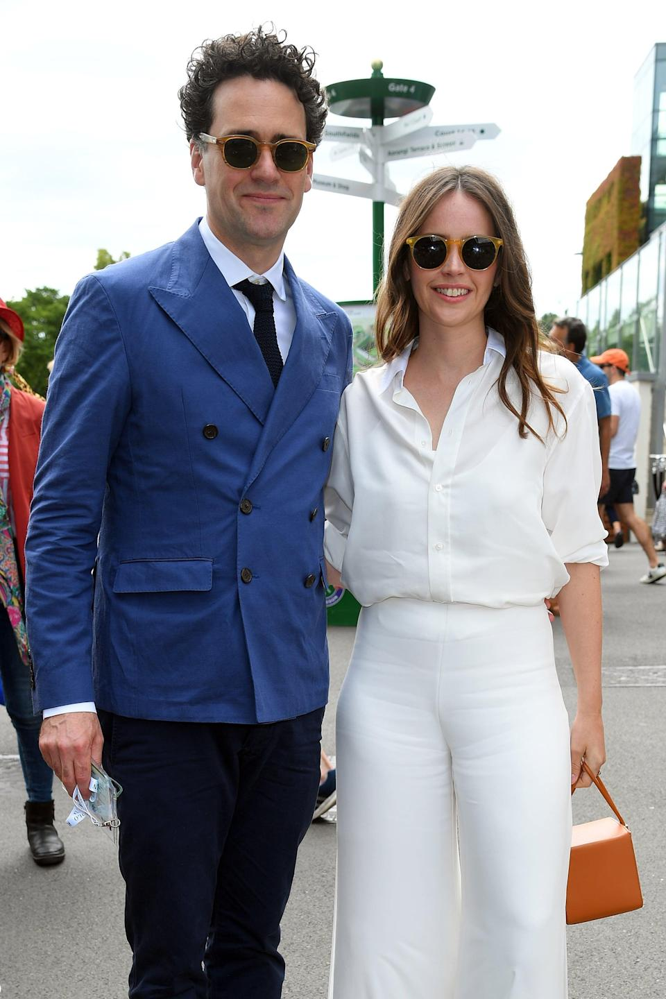 "<p>In December 2019, Felicity Jones and Charles Guard - who have been married since June 2018 - confirmed that they're expecting their first child after <strong>People</strong> <a href=""https://people.com/parents/felicity-jones-pregnant-with-first-child/"" class=""link rapid-noclick-resp"" rel=""nofollow noopener"" target=""_blank"" data-ylk=""slk:announced the exciting news"">announced the exciting news</a>.</p>"