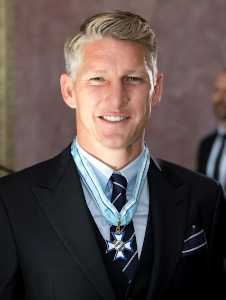 Former Germany captain Bastian Schweinsteiger was awarded the Bavarian Order of Merit on Sunday on his return to Munich ahead of his testimonial at the Allianz Arena on Tuesday