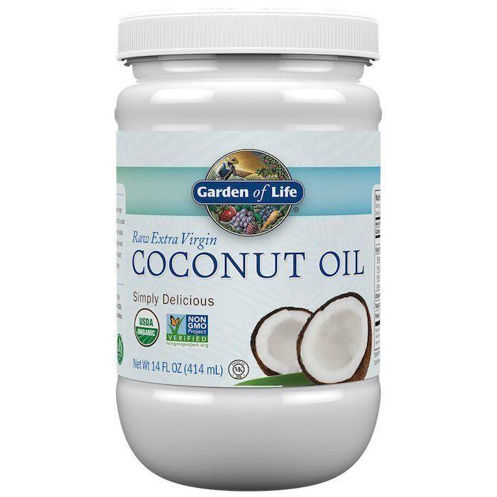 "While it may not traditionally be used as a beauty product, coconut oil is an amazing moisturizer for the skin, nails and hair, and can be added to warm baths for an extra luxurious feel. One of our favorite ways to use it is as a hair mask -- simply rub it into your roots and strands, wrap your hair in plastic wrap (trust us) and a towel, and leave in for 20 minutes before washing out. If your hair needs extra love, you can even sleep with the towel on your head overnight and wash out in the morning. We promise, you hair will be <i>so soft. </i><br /><br /><strong><a href=""https://www.amazon.com/Garden-Life-Organic-Virgin-Coconut/dp/B06VZ3SRGD/ref=sr_1_4_a_it?ie=UTF8&qid=1521050031&sr=8-4&keywords=coconut%2Boil&th=1"" target=""_blank"">Garden of Life coconut oil</a>, $6.99</strong>"