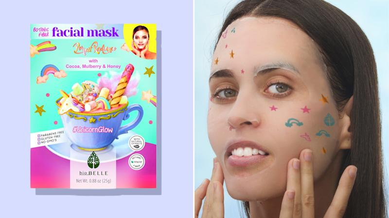 BioBelle #UnicornGlow Holographic Sheet Masks Are Coming