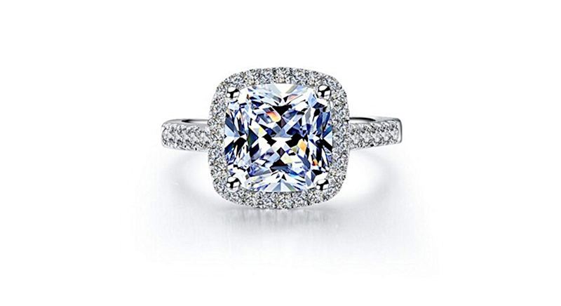 89be92f296190 This dazzling engagement ring costs under £10 on Amazon