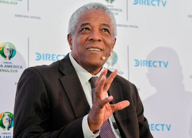 "Francisco ""Pacho"" Maturana, uno de los más respetados técnicos del fútbol latinoamericano. (Photo credit should read DIANA SANCHEZ/AFP/Getty Images)"