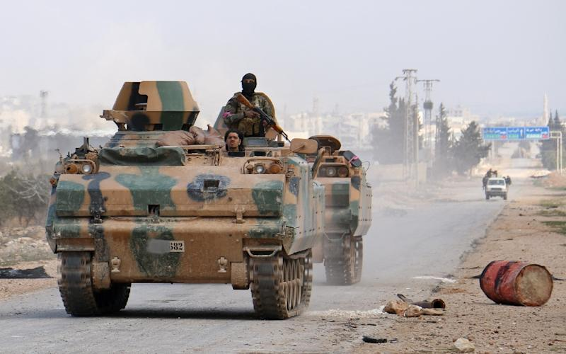 Turkish forces have pounded Al-Bab as they seek to push IS jihadists out of their final stronghold in the Syrian province of Aleppo