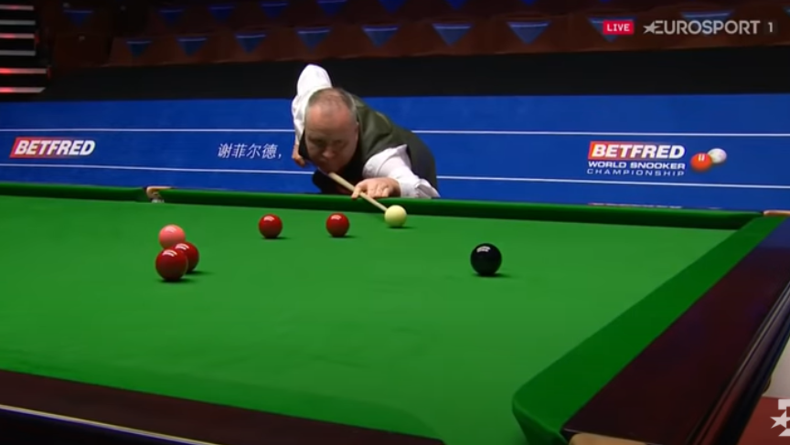 Higgins struck a magical 147 break at the Crucible in the summer and motored into the second round of the Northern Ireland Open