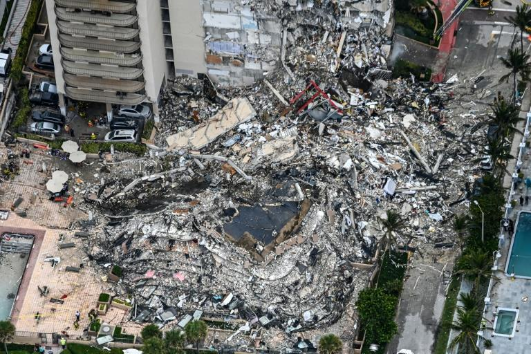The multi-storey apartment block in Florida partially collapsed early June 24, sparking a major emergency response