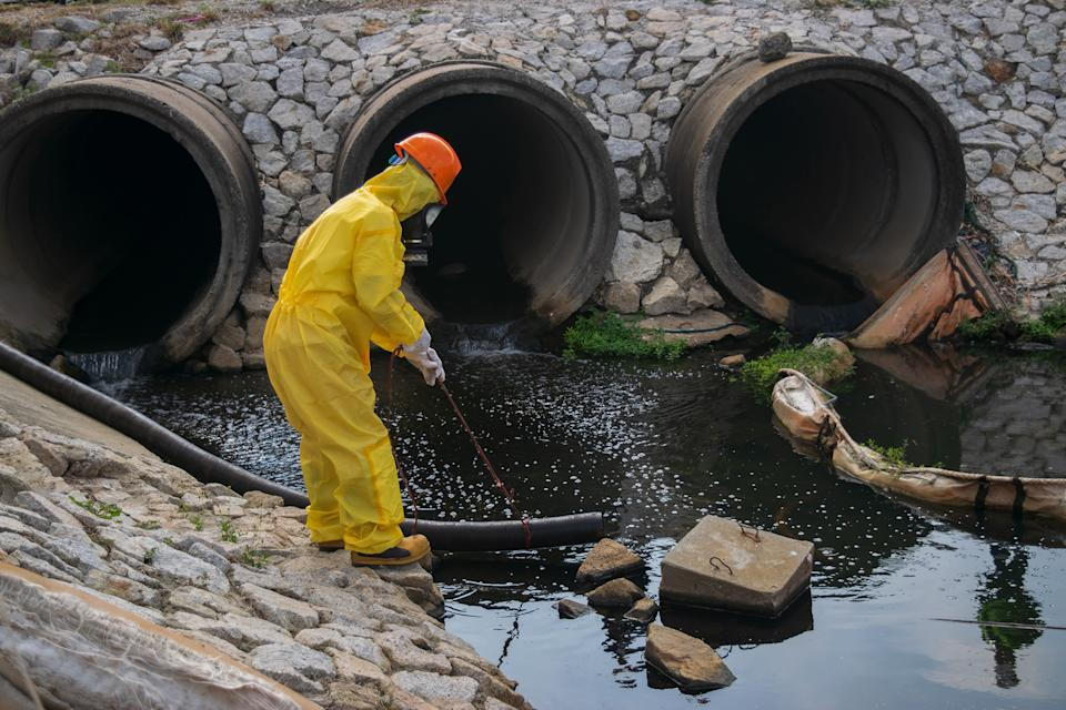 Chemical pollution has reached unprecedented levels in parts of the planet