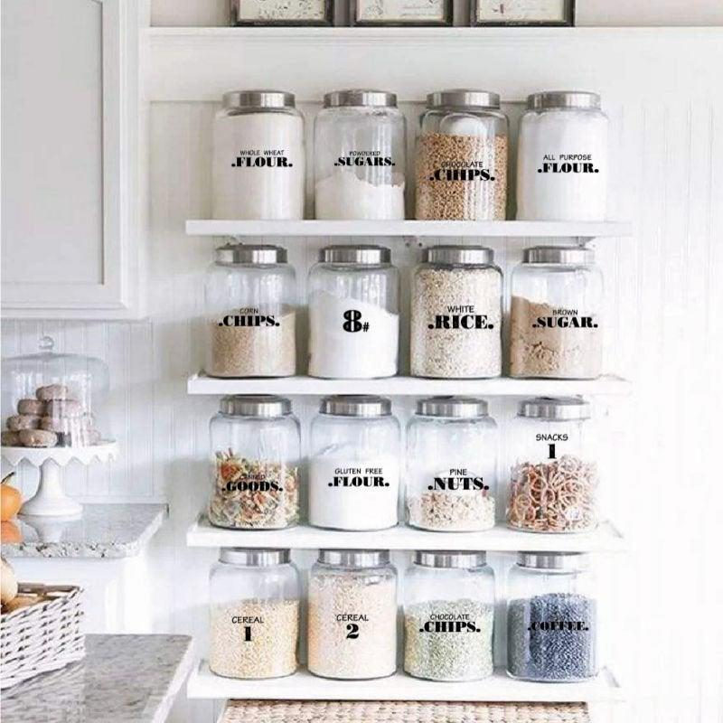 "<h2>Popvcly Waterproof Food Labels</h2><br>Organize and decorate your pantry containers with these 132 adorable labels.<br><br><strong>Popvcly</strong> Waterproof Food Labels, $, available at <a href=""https://go.skimresources.com/?id=30283X879131&url=https%3A%2F%2Fwww.walmart.com%2Fip%2FWaterproof-Food-Labels-Adhesive-Food-Labels-Food-Storage-Freezer-Sticker-Paper-For-Kitchen-Food-Date-Safe-Supplies%2F559334312"" rel=""nofollow noopener"" target=""_blank"" data-ylk=""slk:Walmart"" class=""link rapid-noclick-resp"">Walmart</a>"