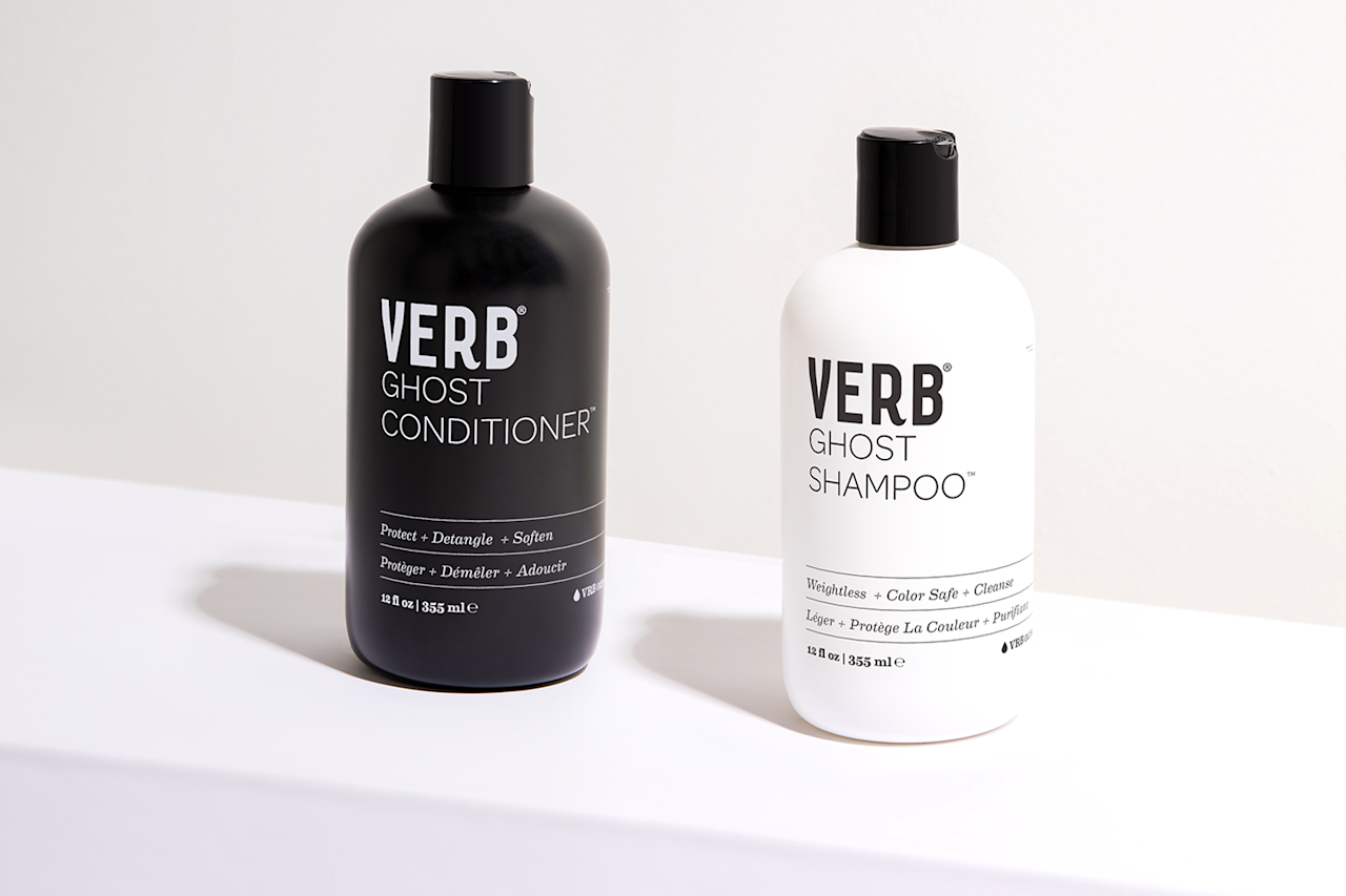 "<p>This <a rel=""nofollow"" href=""http://www.verbproducts.com/ghost-shampoo""><span>shampoo</span></a> and <a rel=""nofollow"" href=""http://www.verbproducts.com/ghost-conditioner""><span>conditioner</span></a> duo from Austin-based hair care brand VERB is made for people who wash their hair regularly. The shampoo and conditioner are formulated with <a rel=""nofollow"" href=""https://www.yahoo.com/lifestyle/why-moringa-is-our-newest-skincare-and-superfood-033157812.html""><span>moringa oil</span></a>, which is known for its hydrating properties but won't weigh down the hair shaft; it is also safe for color-treated hair. The black-and-white bottles are a chic addition to any shower. ($16 each, <a rel=""nofollow"" href=""http://www.verbproducts.com/""><span>verbproducts.com</span></a>) (Photo: VERB) </p>"