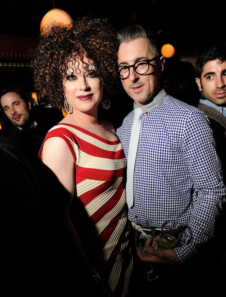 NEW YORK, NY - APRIL 27:  Randy Thompson and Alan Cumming attend Tribeca Film Festival 2012 After-Party For Any Day Now At La Bottega on April 27, 2012 in New York City.  (Photo by Jason Kempin/Getty Images for Tribeca Film Festival)