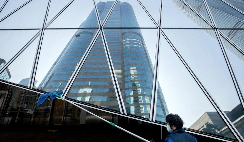 Hong Kong is the world's most expensive city for office rentals. Photo: Bloomberg