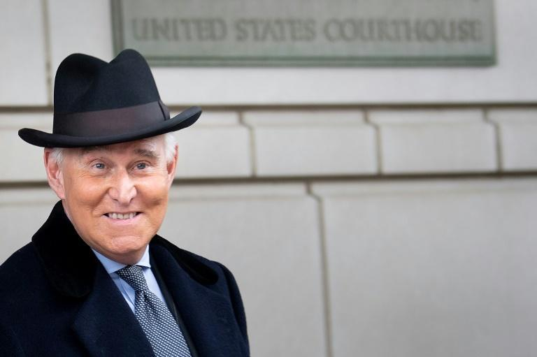 Roger Stone, the longtime Republican political operative pardoned by President Donald Trump