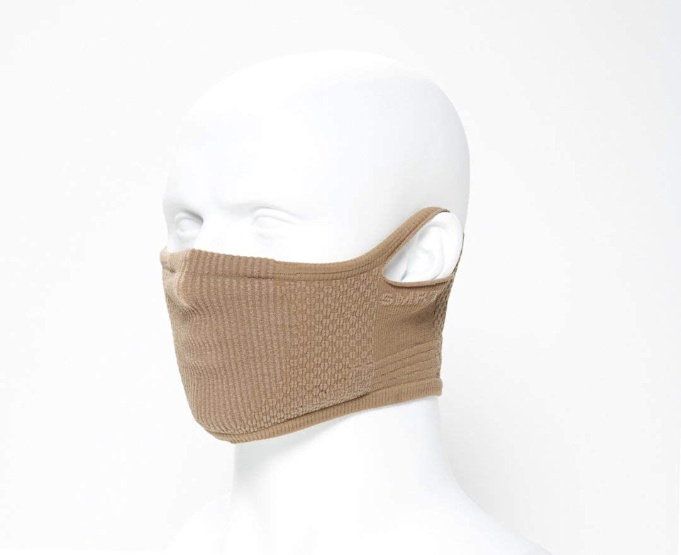 "<h3>SMRTFT Training Face Mask</h3> <br><strong>Size range:</strong> One Size<br><br>This form-fitting face mask slides right over your neck and is made from breathable material with sports activities in mind. As one reviewer also mentioned, this mask is great for glasses-wearers as the snug cut doesn't allow your frames to fog. <br><br><strong>SMRTFT</strong> Training Face Mask, $, available at <a href=""https://amzn.to/35XKle9"" rel=""nofollow noopener"" target=""_blank"" data-ylk=""slk:Amazon"" class=""link rapid-noclick-resp"">Amazon</a>"