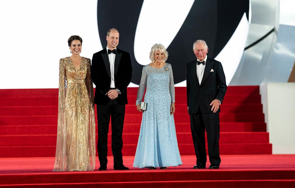 Kate Middleton, Prince William, Prince Charles and Camilla