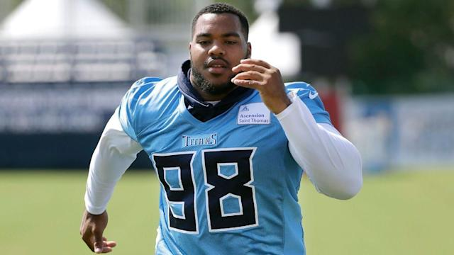 Titans' Jeffery Simmons learns from Jurrell Casey as he rehabs
