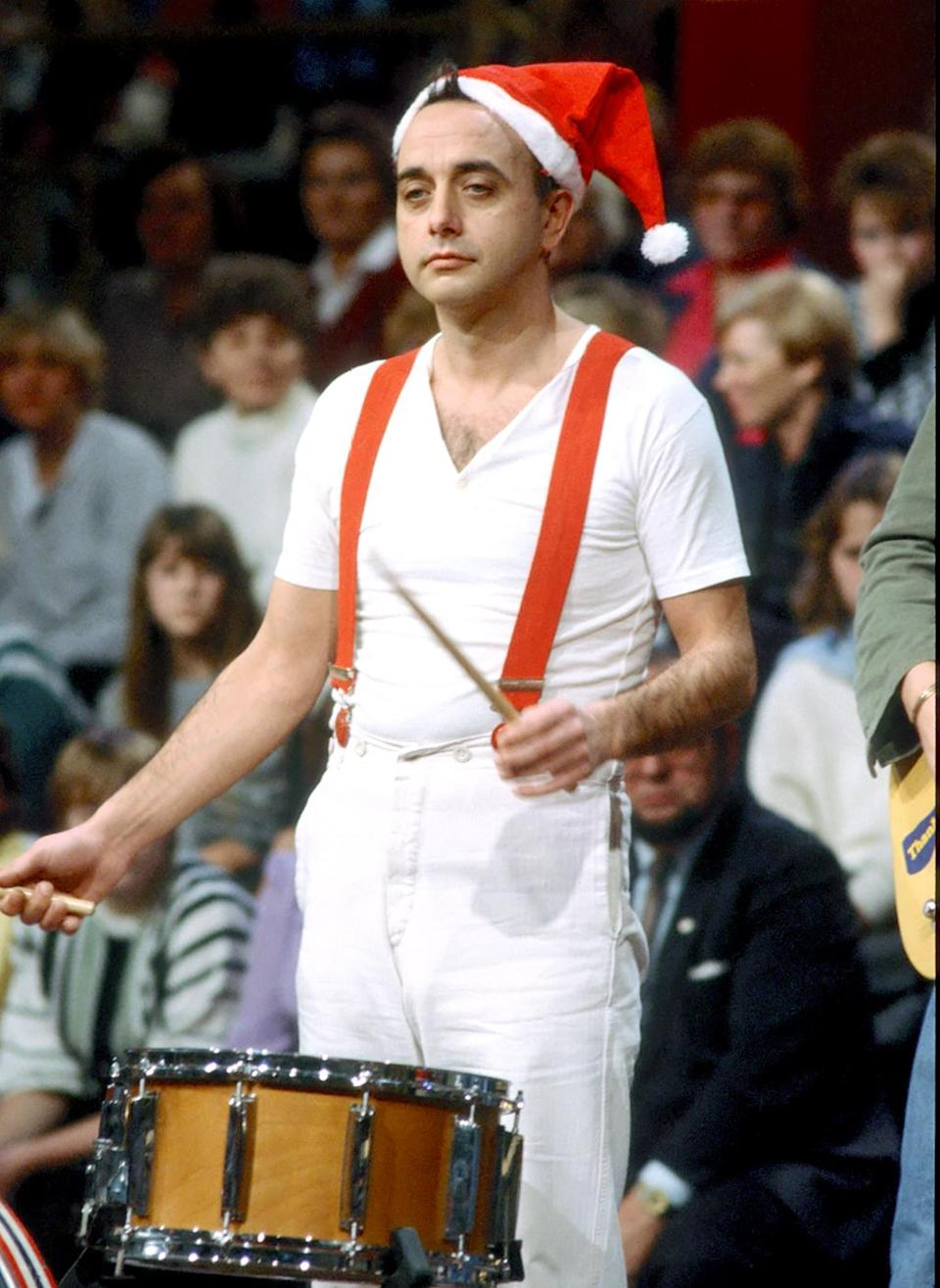 """Peter Behrens was a German musician best known as the drummer for the band Trio, who scored a massive international new wave hit in 1982 with """"Da Da Da."""" He died of multiple organ failure on May 11, at the age of 68. (Photo: Getty Images)"""