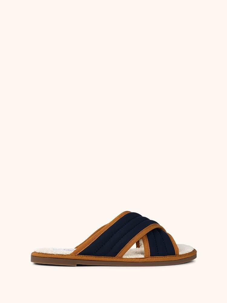 <p>Perhaps unsurprisingly, these <span>Nomasei Hotel de la Plage Mules</span> ($180) are inspired by co-founder Paule Tenaillon's penchant for hotel slippers. Staycation, anyone?</p>