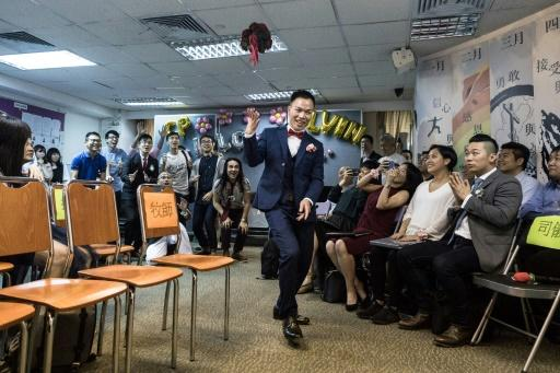 Homosexuality was only decriminalised in Hong Kong in 1991, and despite a vibrant gay scene and an annual pride parade, conservative attitudes still run deep in Chinese traditions