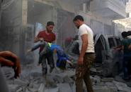 Jihadists and rebel fighters were forced into the northwestern province of Idlib, where around three million people now live in abominable conditions