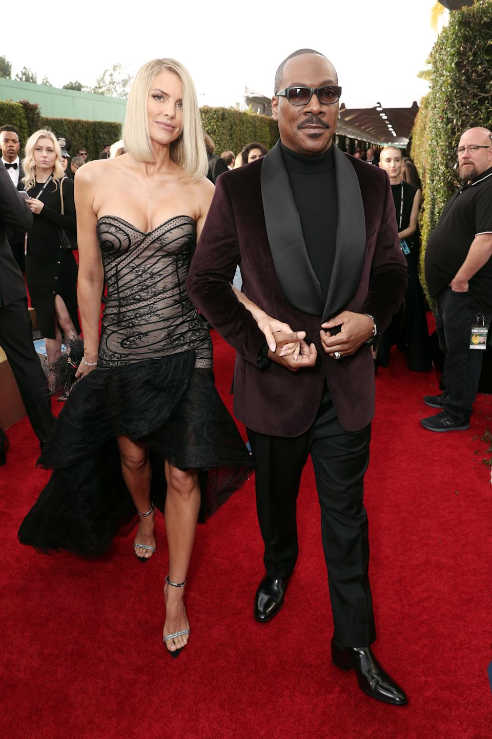 "<h1 class=""title"">Paige Butcher and Eddie Murphy</h1><cite class=""credit"">Photo: Getty Images</cite>"