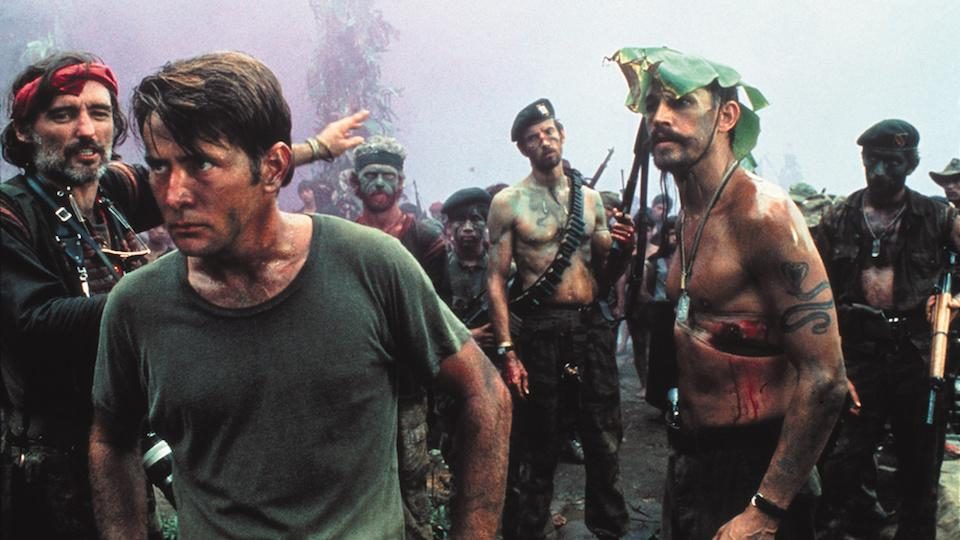 <p>                                     Colonel Walter E. Kurtz (Marlon Brando) has gone mad, deep in the heart of Cambodia, and the US Army sends Captain Benjamin L. Willard (Martin Sheen) to find and terminate Kurtz &quot;with extreme prejudice&quot;. Willard initially keeps his mission secret as he heads upriver, his accompanying Naval guard growing increasingly distrustful toward him as they find themselves under attack by the Viet Cong, their numbers dwindling rapidly the further they push on. Eventually, they reach Kurtz&apos; encampment, where Kurtz captures and tortures Willard, releases him, then espouses his dark philosophy on war. In the film&apos;s final moments, Willard kills Kurtz with a machete and speeds away on a boat back downriver.                                 </p>                                                                                                                               <p>                                     <strong>Key things to mention:&#xA0;</strong>Apocalypse Now&#xA0;is more or less a film adaptation of the Joseph Conrad novel Heart of Darkness, only set during the Vietnam War. Harrison Ford has a cameo right at the beginning as Colonel G. Lucas who gives Willard his orders, named after director Francis Ford Coppola&apos;s friend and colleague, George Lucas. The film also went through a litany of production troubles (including a heart attack suffered by the film&apos;s lead, Martin Sheen), with Coppola reflecting: &quot;We were in the jungle, there were too many of us, we had access to too much money, too much equipment and little by little, we went insane.&quot;                                 </p>                                                                                                                               <p>                                     <strong>Memorable quote:&#xA0;</strong>&quot;I love the smell of napalm in the morning.&quot;<br> <strong>David Roberts</strong>                                